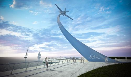 Fundraising campaign for Britain's first national Spitfire monument takes flight